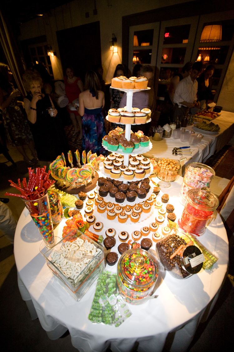 Cupcake and Candy Buffet